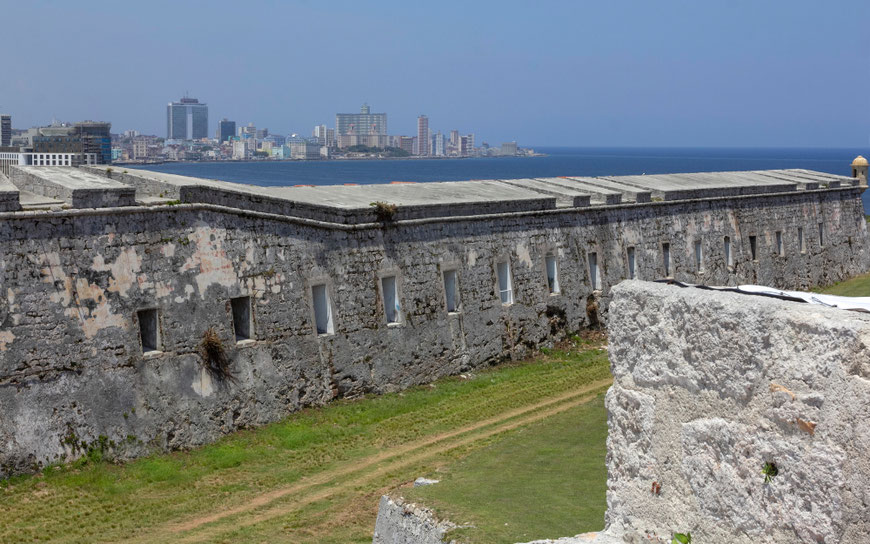 Šv. Karolio tvirtovė - didžiausia Kuboje