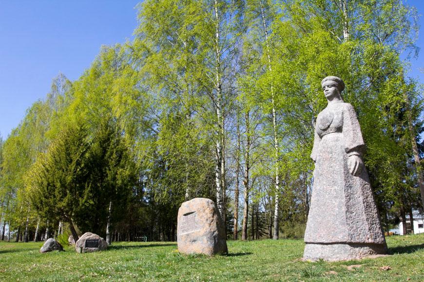 Memorialas Lelų Motinai  / Foto: Kristina Stalnionytė