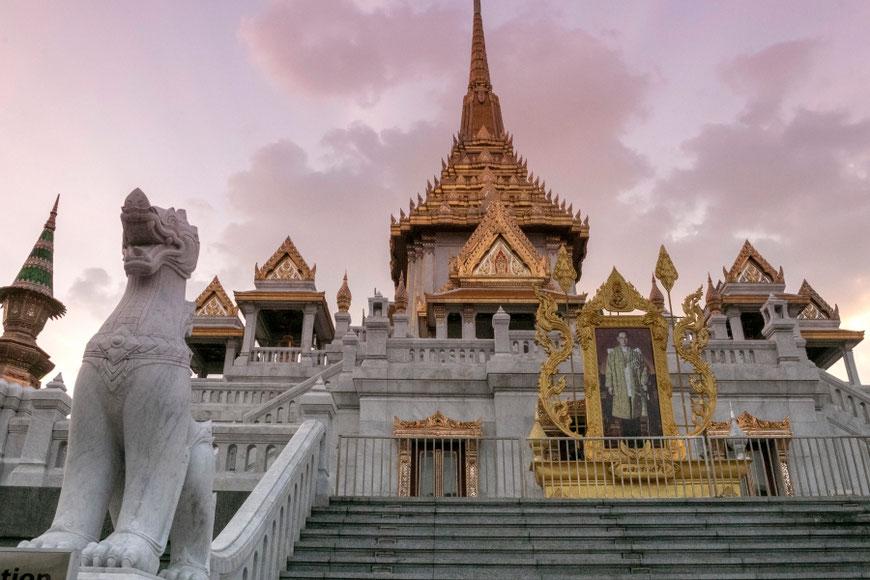Wat Traimit šventykloje yra Budos atvaizdas iš gryno aukso / Foto: Kristina Stalnionytė