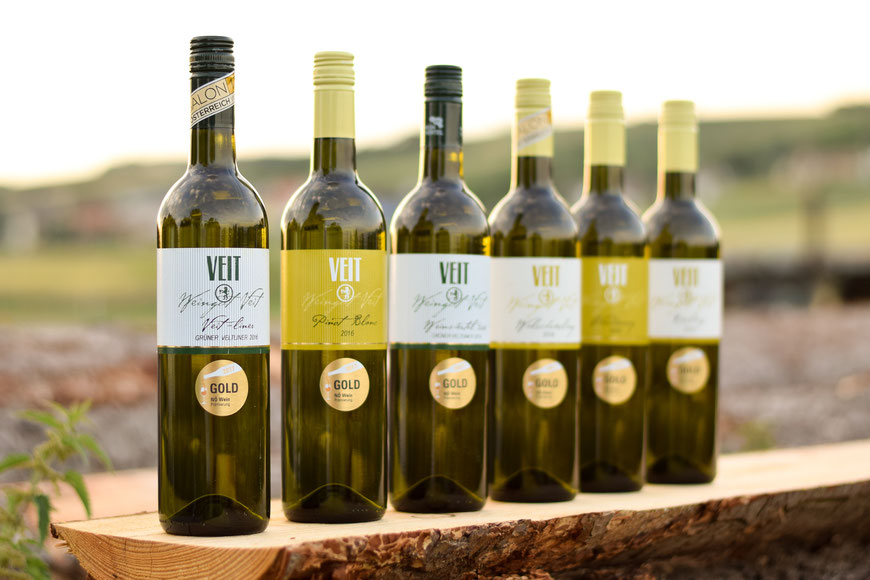Unsere von NÖ Wein mit Gold ausgezeichneten Weine