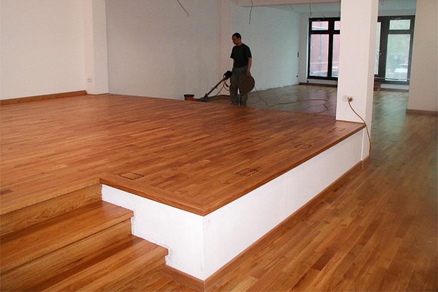 Holzfußboden Verlegen ~ Holzboden verlegen u schwimmend oder vollflächig verkleben