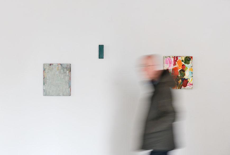 Andreas Keil, Couleur sans titre, zusammen mit Peter Tollens und Michael Toenges, L´H du Siège, Valenciennes, Frankreich, 2019