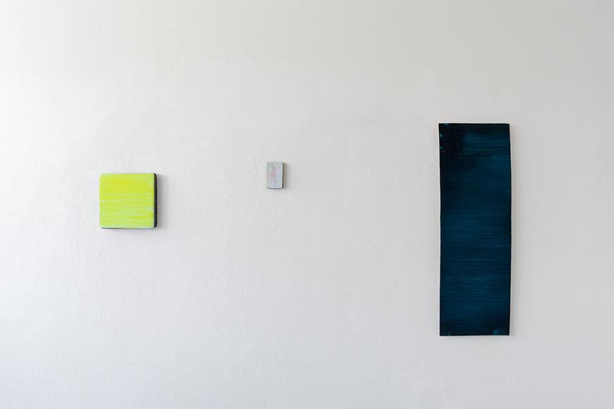Andreas Keil, Malerei, 2021, Atelieransicht, KunstWerk e.V., Köln