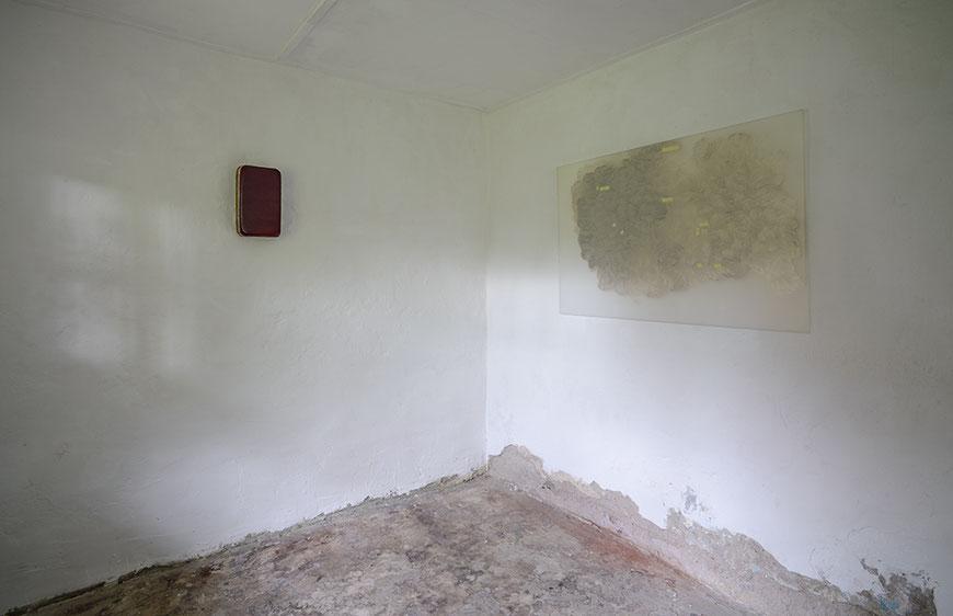 Andreas Keil, Malerei, Ausstellung, Mittsommer, zusammen mit Ulrich Wellmann, Kunstraum K634, Köln, 2015