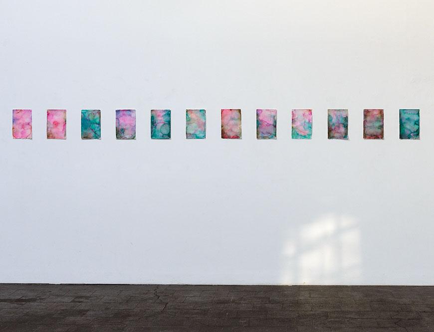 Andreas Keil, Malerei, Ausstellungsansicht, Verein für aktuelle Kunst, Vfak, Oberhausen, 2019