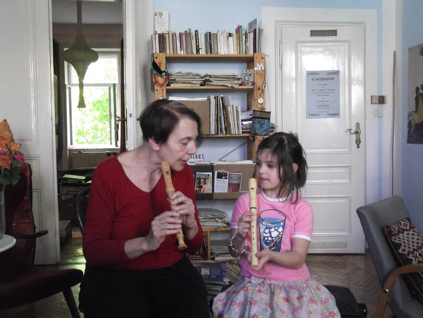 Flötenstunde