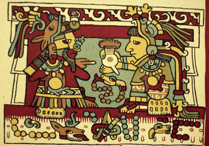 Cacao Mama the history and spirit cacao served to Aztec couple on wedding day