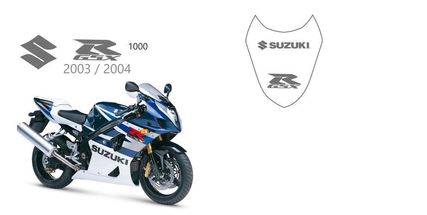 Suzuki GSXRS 3D GSX-R Noir Rouge Bleu Frein Frein Frein Fluid Capuche de Bouchon Color : A