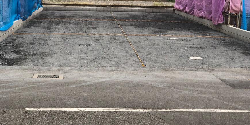 田辺クリーニング駐車場