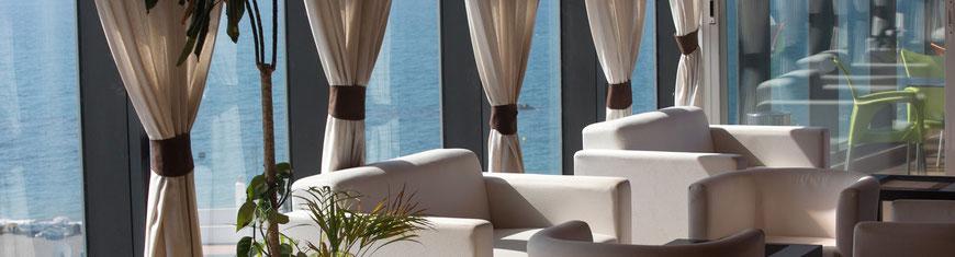 Proyectos de hoteles realizados, equipamiento de hoteles realizados por tu hotel contract. Mobiliario y decoración de hoteles. Restauración de hoteles.
