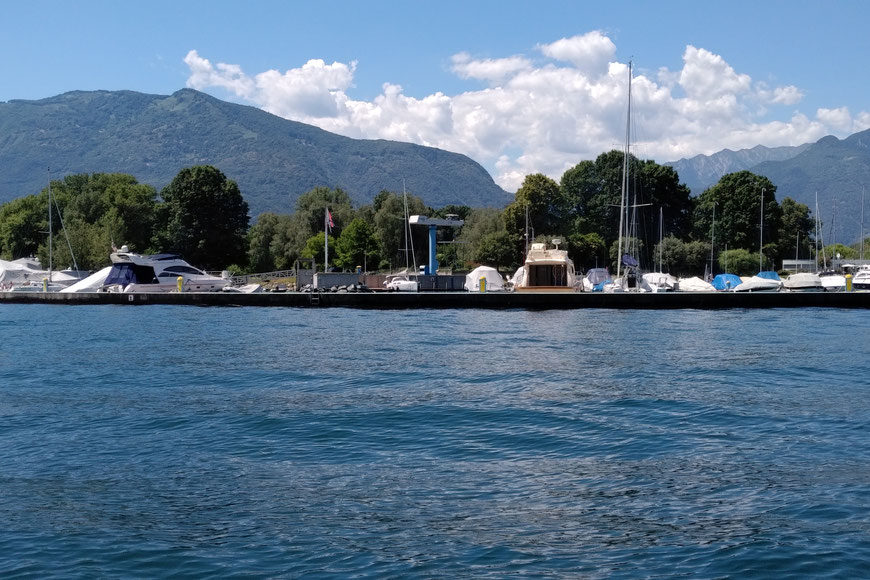 Hafen Lago Maggiore