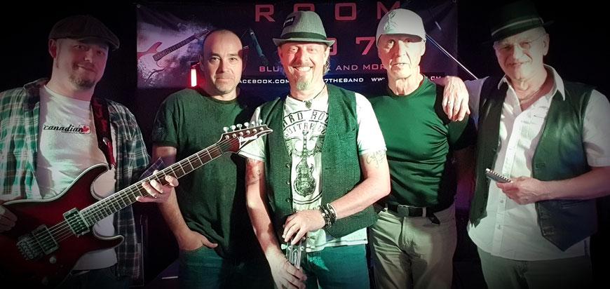 ROOM 207 - Blues, Rock and more, Room 207, Zürcher Bluesband