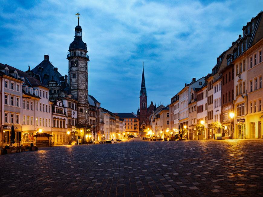 Altenburg zur blauen Stunde