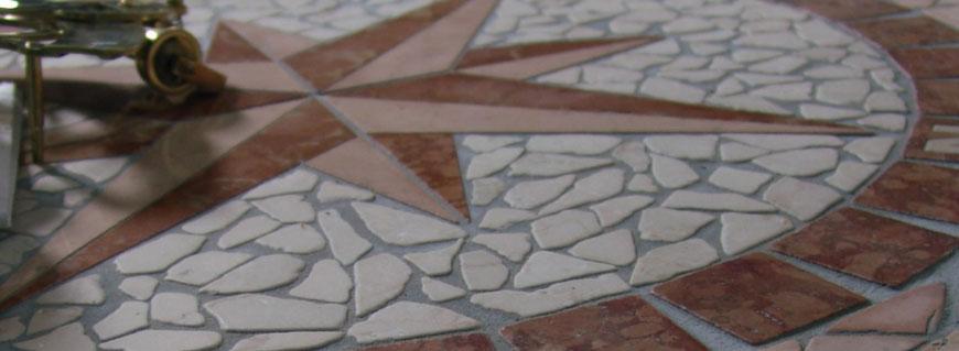 Rosone in marmo vari disegni su richiesta