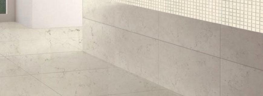 Piastrelle marmo Bianco Perlino