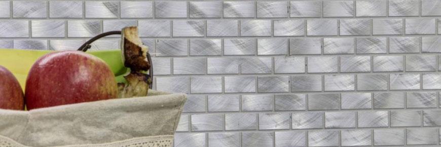 Mosaico in alluminio