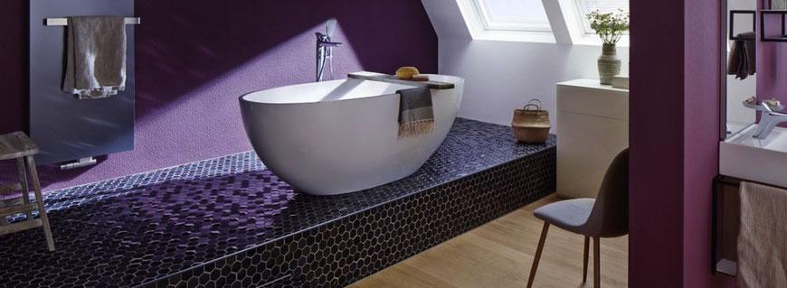 mosaico esagonale in marmo e vetro per rivestimenti cucine e bagni