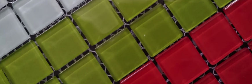Mosaico in vetro per piscine bagno cucina