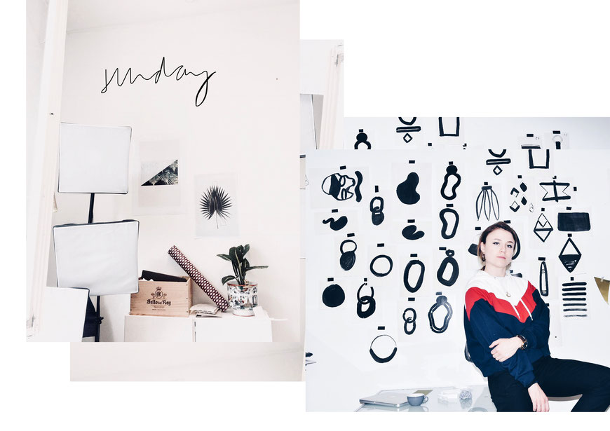 studiosunday- creative Yael Anders in her Studio in Zurich. Youngdesigner Zurich.