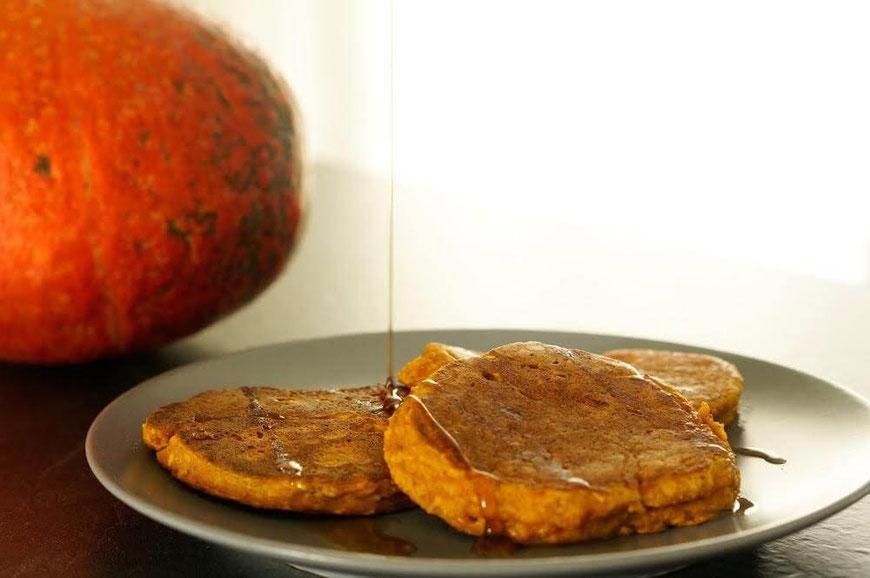 Kürbis-Pancakes |clean, fruchtig & lowcarb