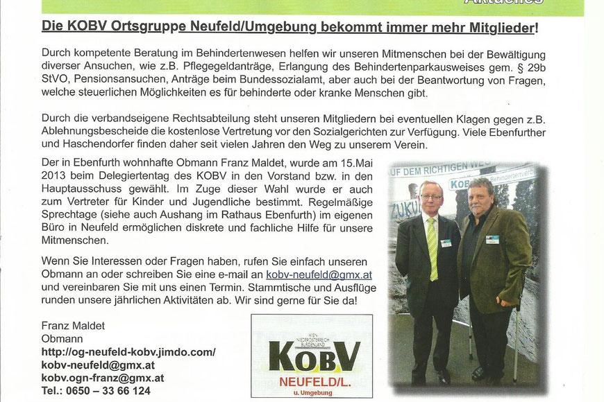 Quelle: Ebenfurther Stadtnachrichten