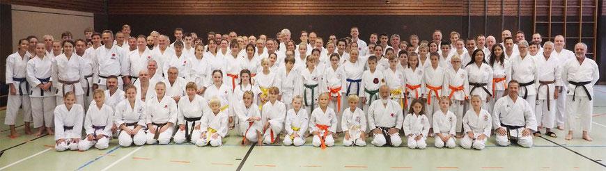 Hideo Ochi-Sensei, Karate Erlach