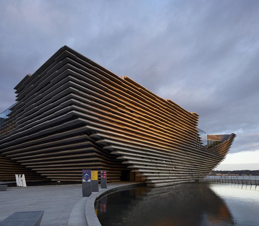 Victoria & Albert Museum in Dundee, ©Hufton+Crow