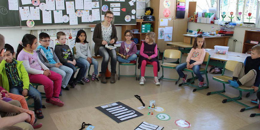 In der Klasse besprechen die Kinder welche Rechte aber auch welche Pflichten sie haben. Foto:privat