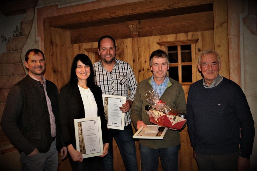 Fendt Holzgestaltung Mitarbeiterehrungen 2018