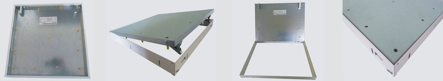 Trappe de visite tiroir pour cloisons séparatrices
