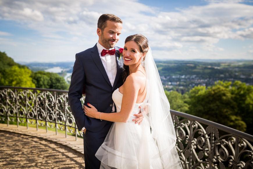 Brautpaarshooting Schloss Drachenburg