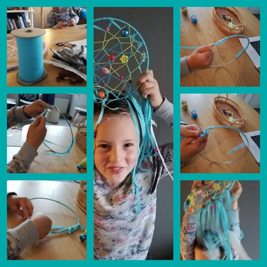 Kinderfeestje workshop dromenvangers maken