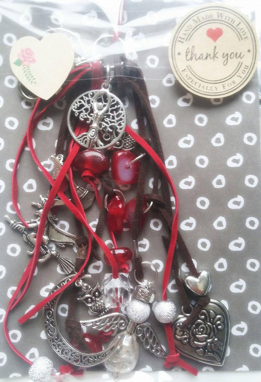 Sleutelhanger rood godin