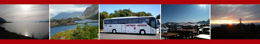 Herzlich Willkommen bei Busreisen Ortner GmbH - Busreisen