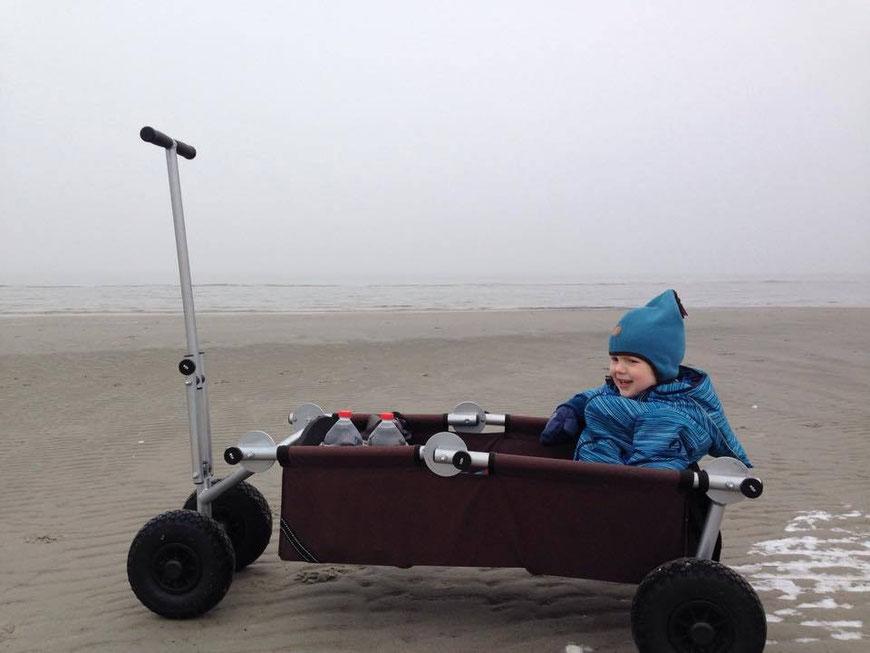 ulfBo - der Strandwagen