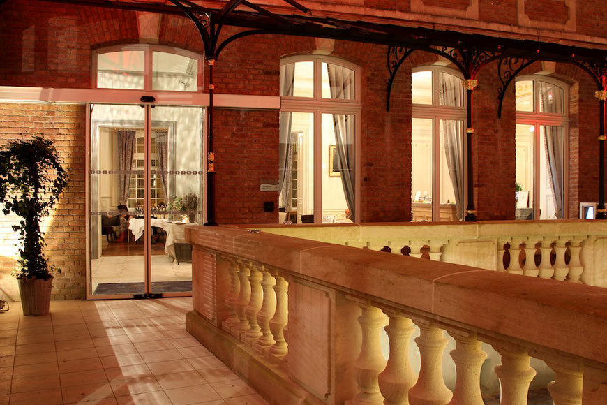 Hôtel Marotte, 5 stars, boutique hotel, luxury hotel, hotel cosy & chic, hotel in the city centre of Amiens, hall
