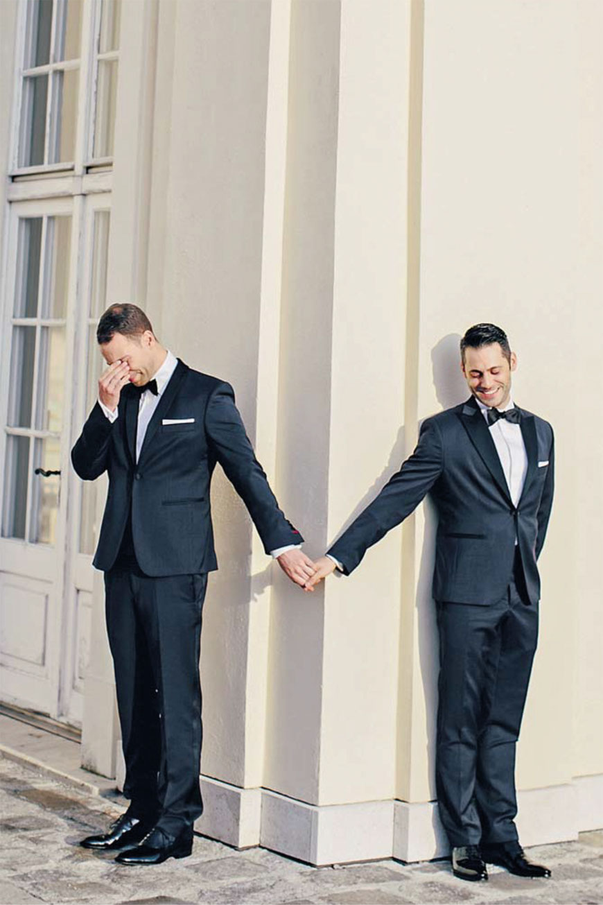 """Two Grooms are better than one."" Foto: Carmen und Ingo Leitner"