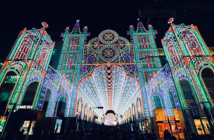 2018年 神戸ルミナリエ Photo by PhotoBAKA〜フォトバカ〜