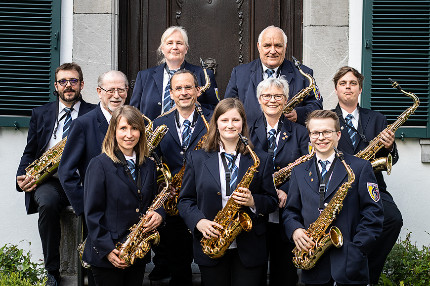 Städtischer Musikverein Erkelenz Saxophone Mai 2019