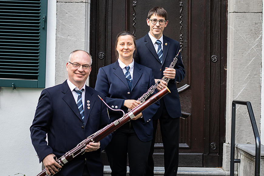Städtischer Musikverein Erkelenz Oboen und Fagot Mai 2019