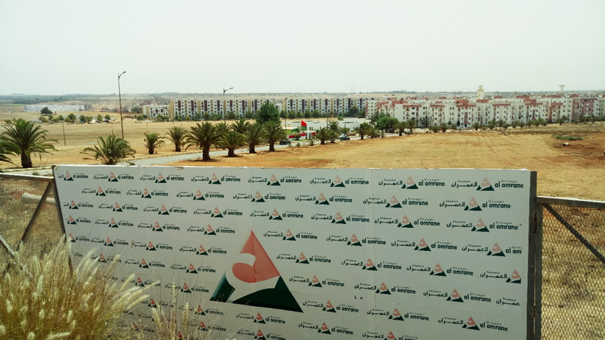Tamesna, «ville nouvelle» et presque déserte, située à 20 km de Rabat dont la construction est assurée par le holding d'aménagement Al Omrane