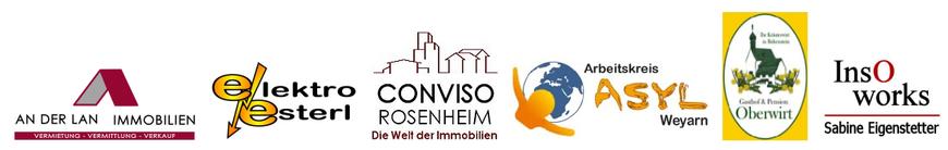 Beispiele von Logoentwürfen - Webdesign Weidl