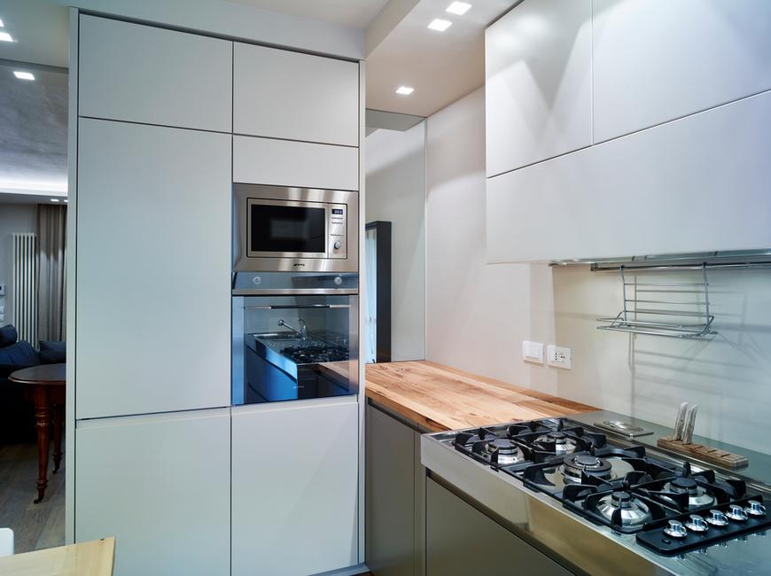 cartongesso e faretti in cucina: qui il progetto completo