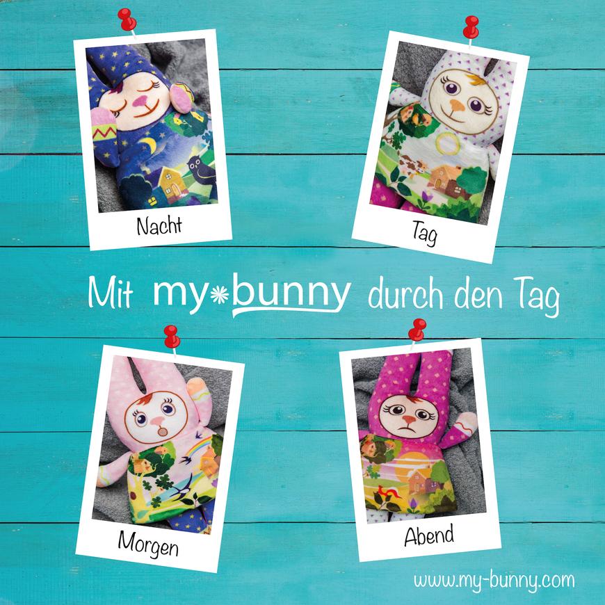 my bunny die vier Tageszeiten