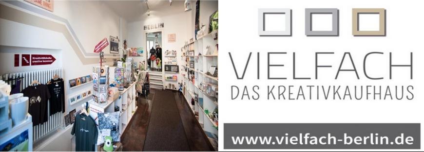 VIELFACH - Das Kreativkaufhaus,  Zimmerstraße 11,  10969 Berlin