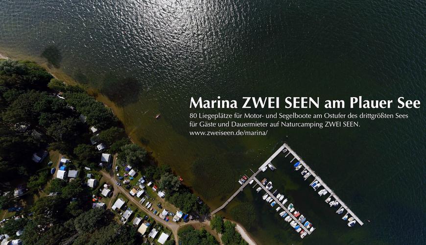 Marina Zwei Seen © Naturcamping Zwei Seen