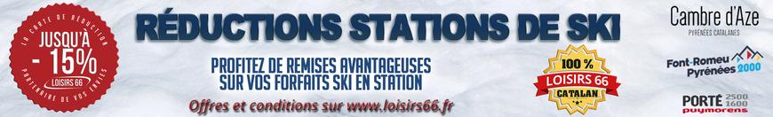 Réduction ski Perpignan Loisirs 66