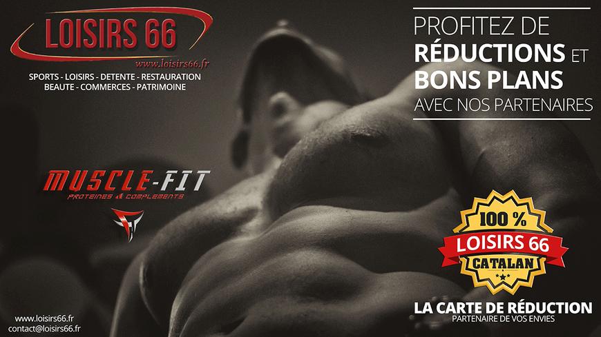 Muscle fit Perpignan St Estève réduction Loisirs 66