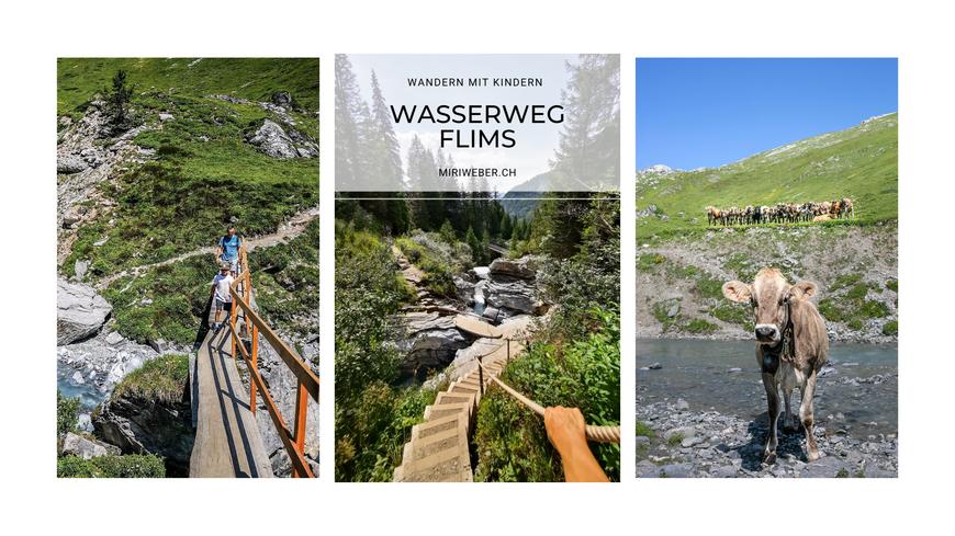 Wasserweg, Trutg dil Flem, Familien, Wanderung, wandern mit Kindern, Flims, Laax, Travelblog, Schweiz, Familienblog, Wanderweg