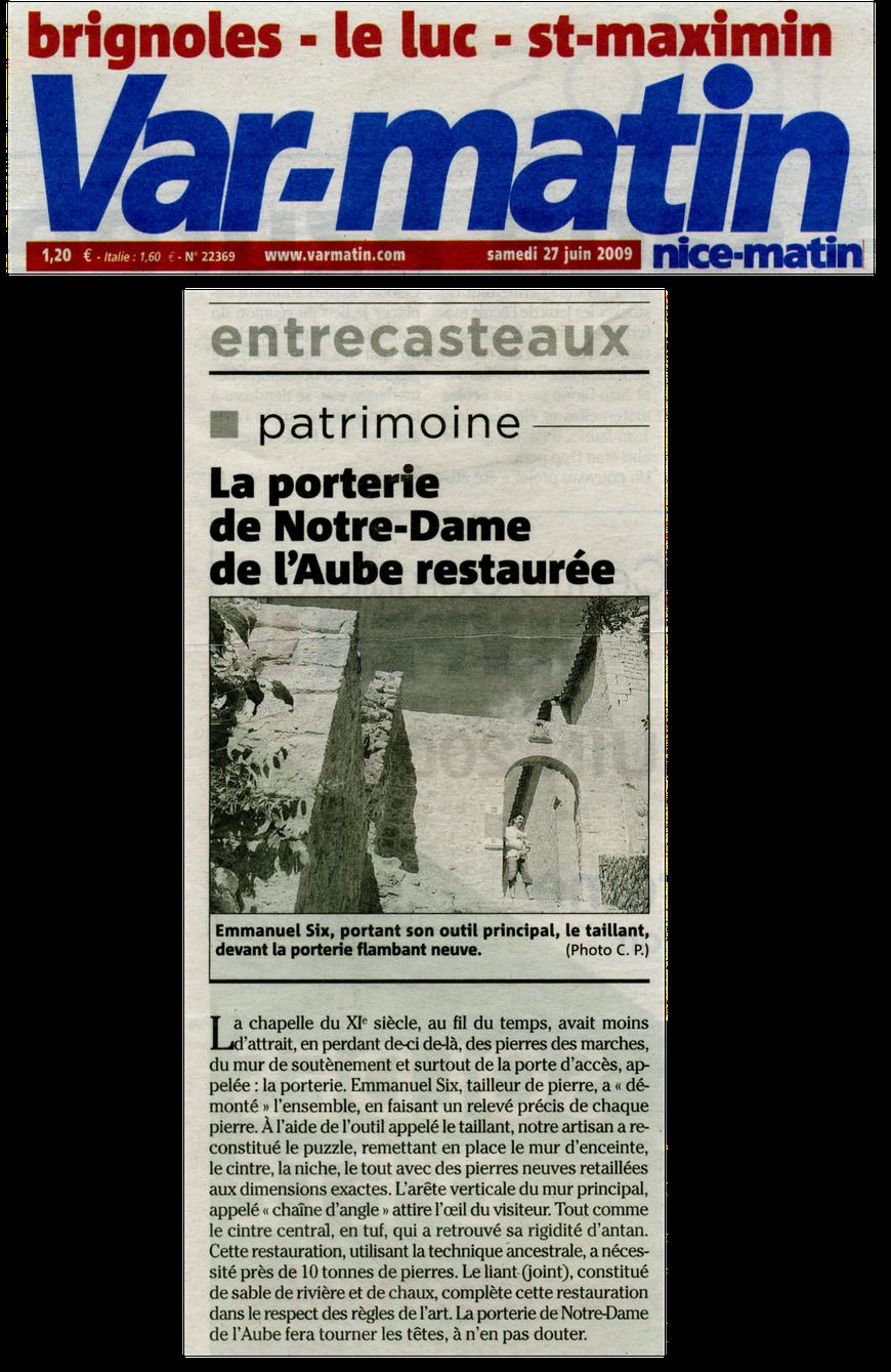 restauration-monument-pierre-entrecasteaux-var-matin-emmanuel-six-pierres-rosette